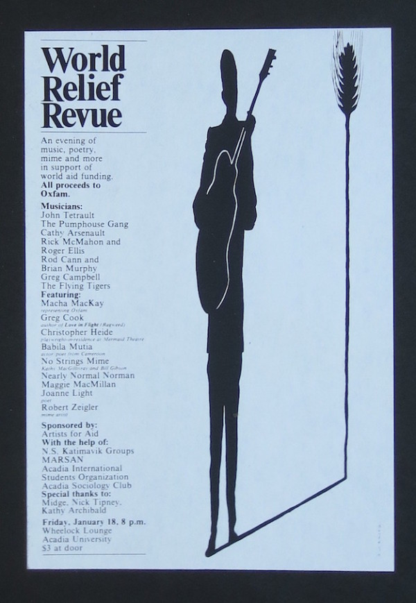 Poster for World Relief Revue large