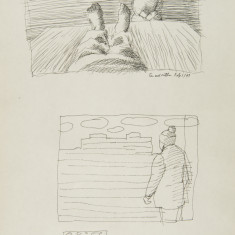 Study for Mother and Son and Hospital Exterior thumb