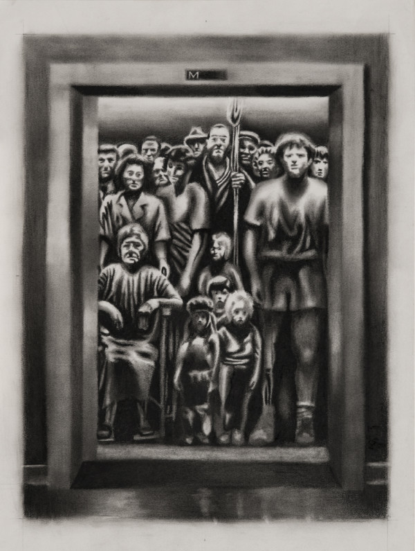 Elevator with Terry Fox large
