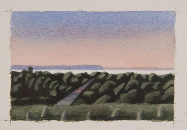 Sunset over Blomidon large