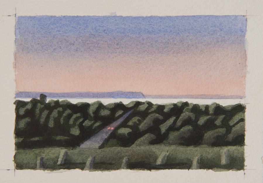 Sunset Over Blomidon